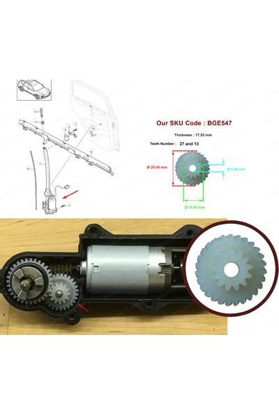 ESC EGE547 Porsche İçin Arka Cam Güneşlik Perde Motor Dişlisi 958536317013W4