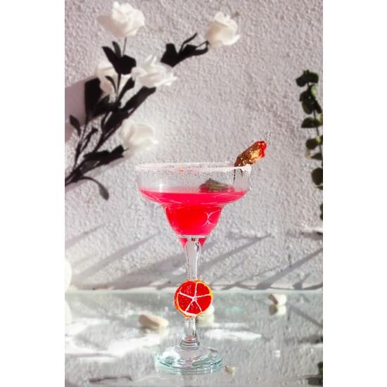 Adamodart Greyfurt Figürlü Margarita Tekli Kokteyl Bardağı