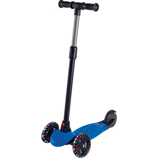 Furkan Toys Dragon Mavi LED Işıklı Scooter