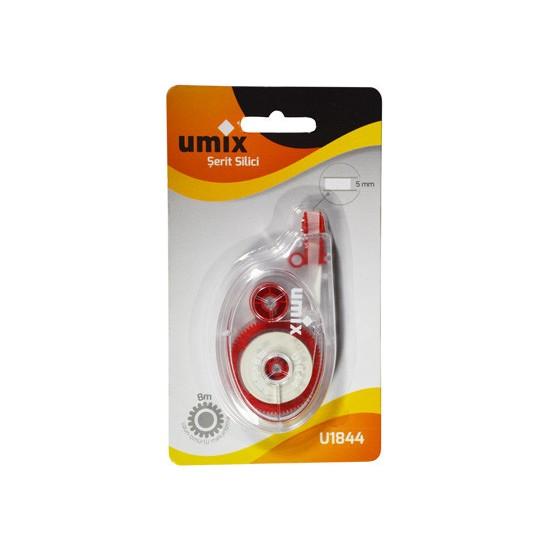Umix Umı x Şerit Silici 5 mm x 8 mt Blıster Kırmızı