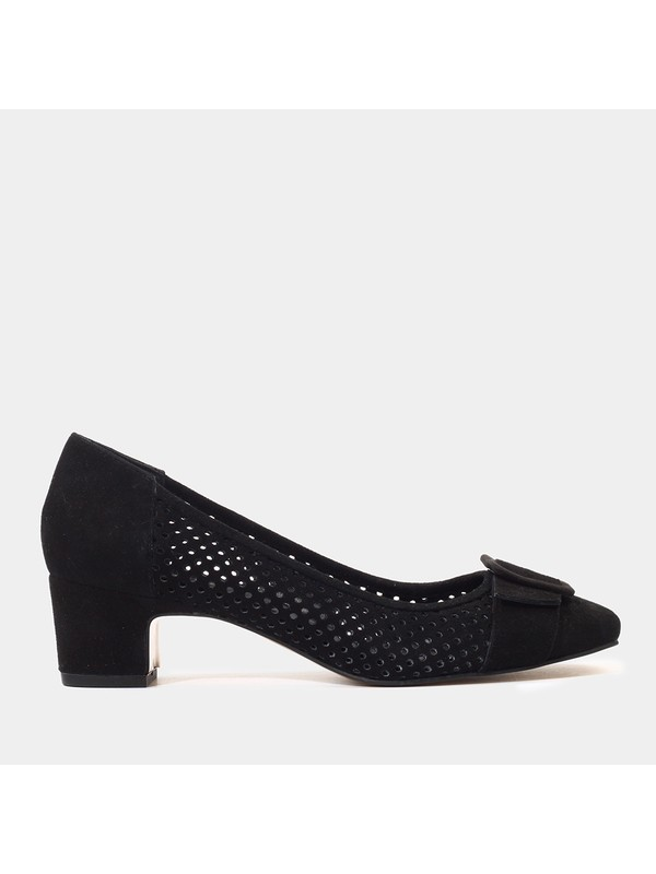 Hotiç 01AYH175880A100 Siyah Kadın Ayakkabı