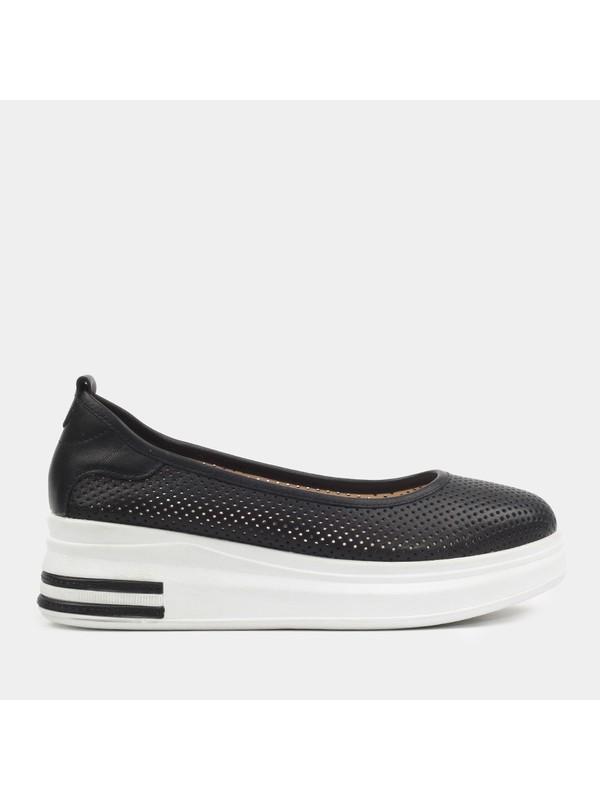 Hotiç 01AYH181640A100 Siyah Kadın Ayakkabı