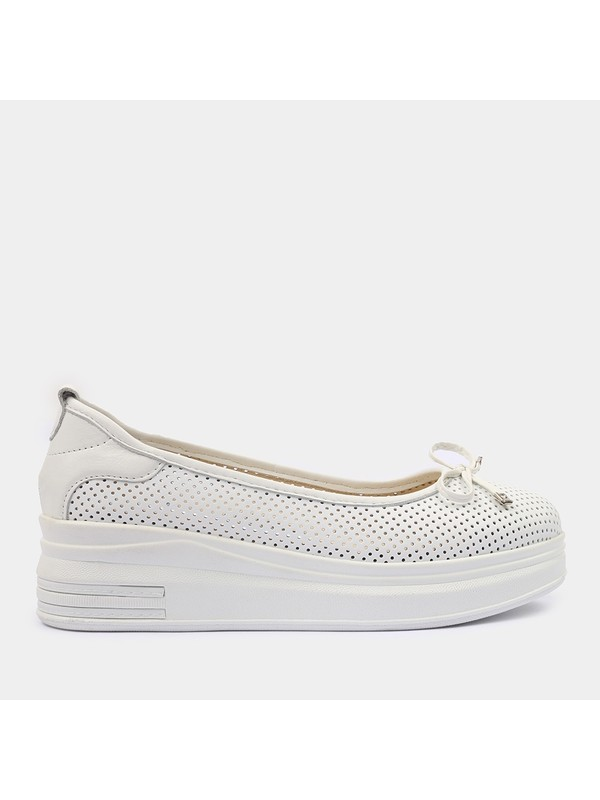 Hotiç 01AYH181640A900 Beyaz Kadın Ayakkabı