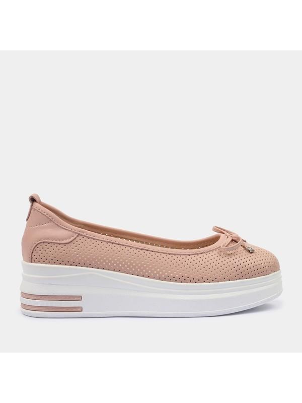 Hotiç 01AYH181640A700 Pudra Kadın Ayakkabı