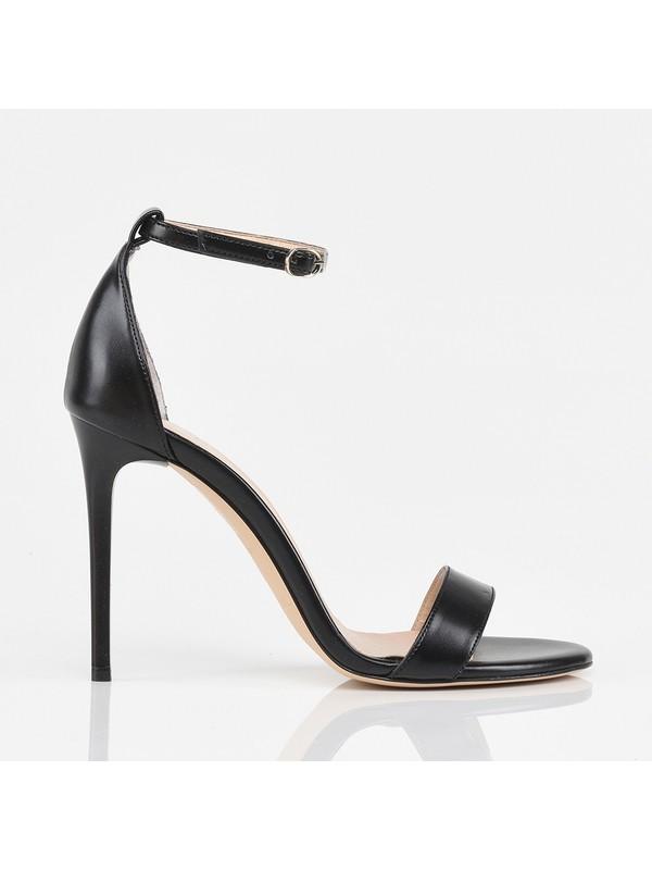 Hotiç 01SAH175400A100 Siyah Kadın Sandalet