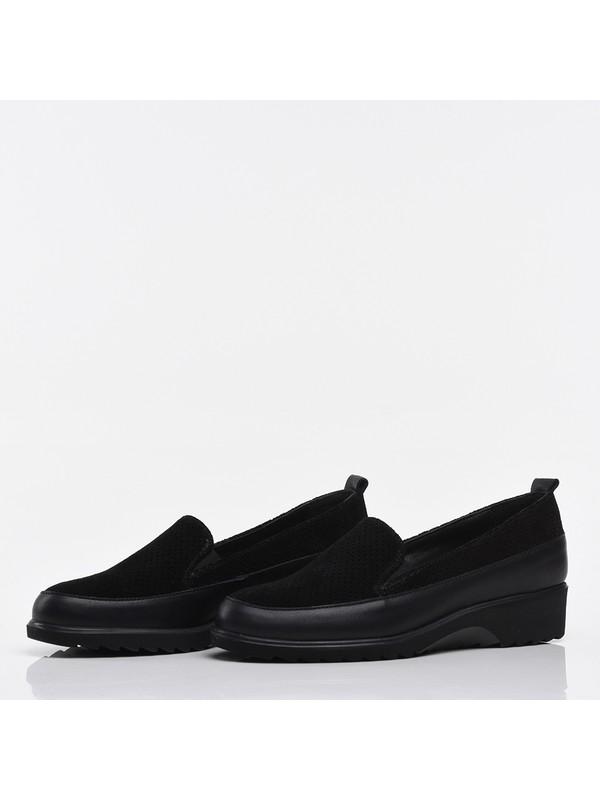 Hotiç 01AYH213890A100 Siyah Kadın Ayakkabı