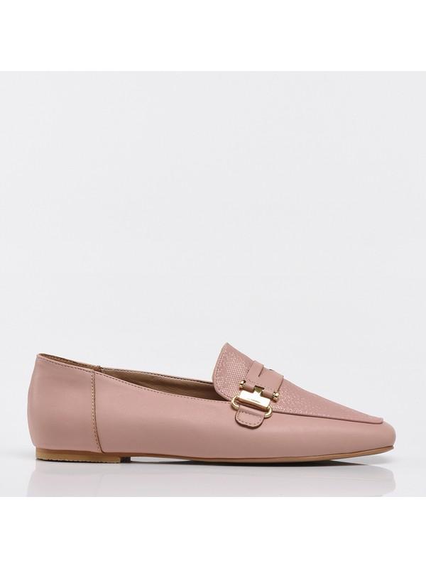 Hotiç 01AYH207100A700 Pudra Kadın Ayakkabı