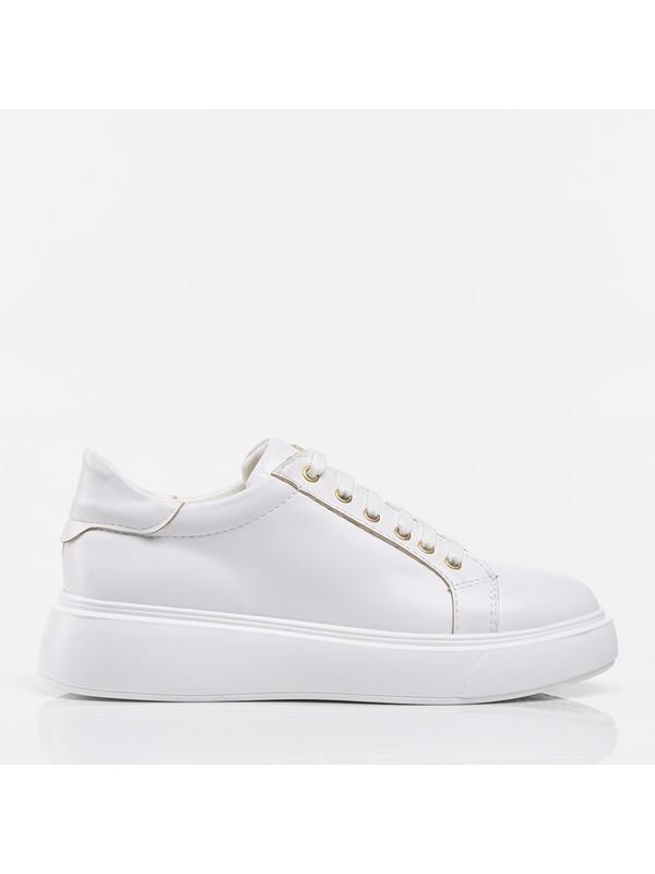 Yaya By Hotiç 01AYY200210A900 Beyaz Kadın Ayakkabı