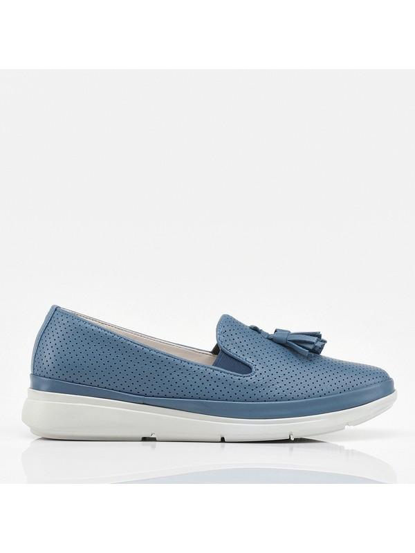 Hotiç 01AYH208480A620 Mavi Kadın Ayakkabı