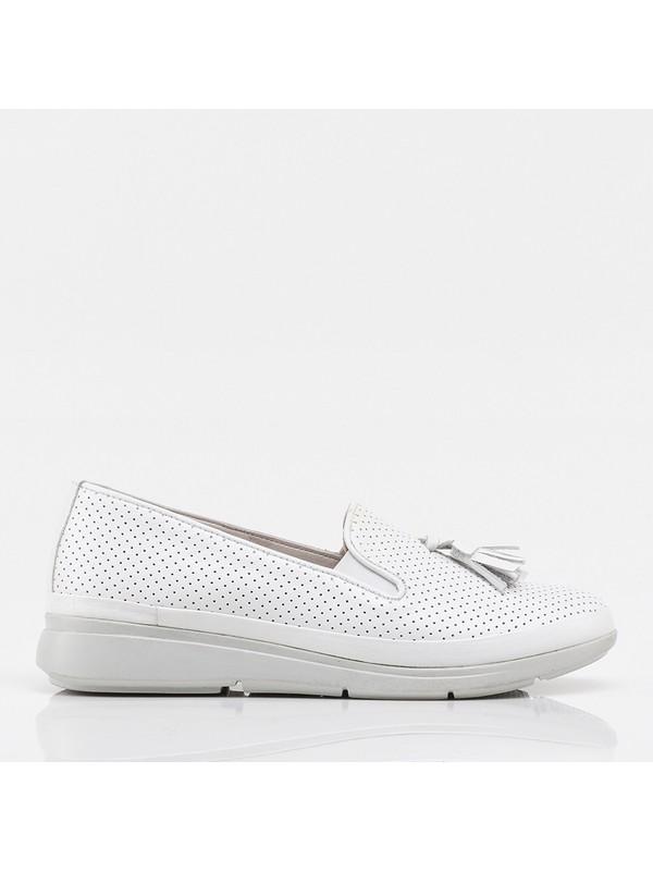 Hotiç 01AYH208480A900 Beyaz Kadın Ayakkabı