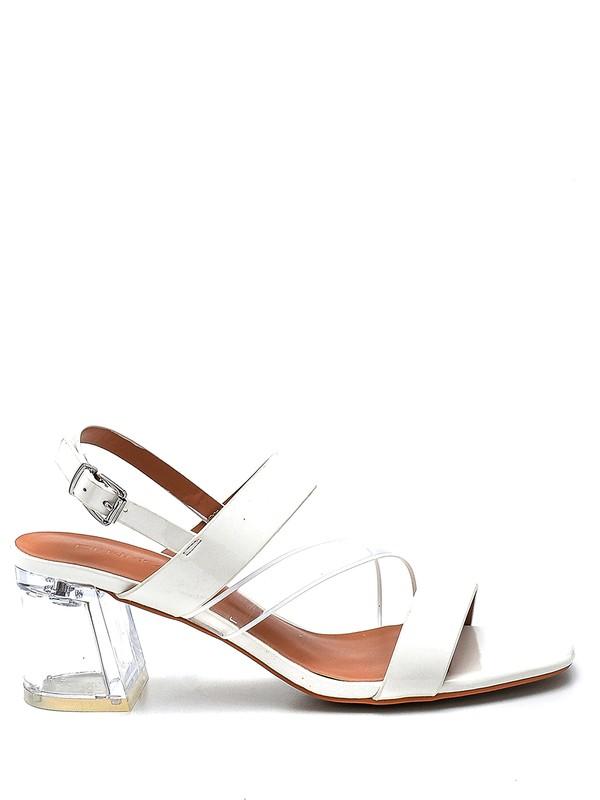 Derimod Kadın Casual Şeffaf Topuklu Sandalet