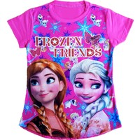 Frozen Elsa Kız Çocuk Tişört