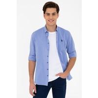 U.S. Polo Assn. Mavi Gömlek Uzunkol Basic 50238007-VR045