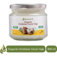 Ecowera Ecowoil Organik Hindistan Cevizi Yağı 300ml