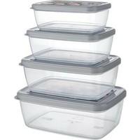 Shopyhome Aria Storage Box 4'lü Set