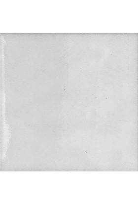 Armada Çini 12,5X12,5 cm Düz Beyaz Çini Seramik Karo