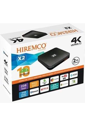 Hiremco X2 Android 10 Tv Box