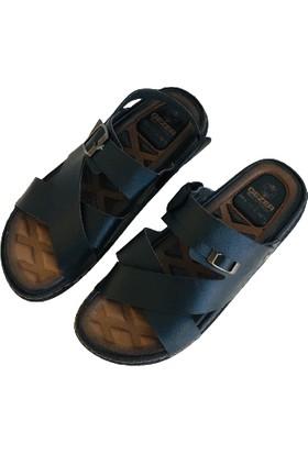 Gezer Erkek Sandalet Terlik Genç Yetişkin Model 40-45 Numara