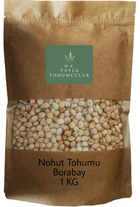 Yayla Nohut Tohumu Borabay Yemeklik 1 kg