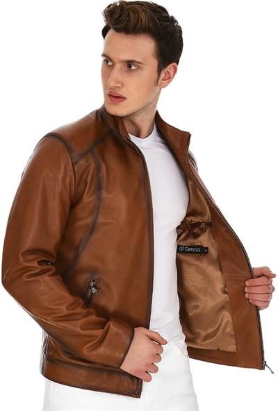 Dinamo Leather Erkek Gerçek Deri Ceket DE-300V2 - 20158 Dl1