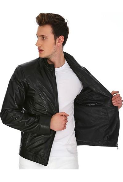 Dinamo Leather Erkek Gerçek Deri Ceket DE-300V2 - 20018 Dl1