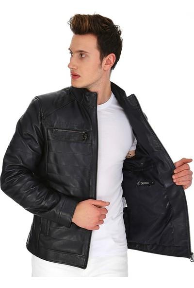 Dinamo Leather Erkek Gerçek Deri Ceket DE-599 - 20101 Dl1