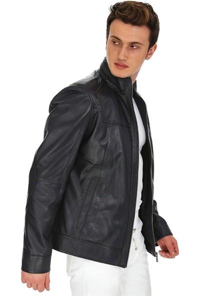 Dinamo Leather Erkek Gerçek Deri Ceket DE-133 - 20094 Dl1