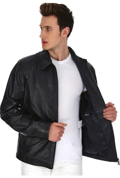 Dinamo Leather Erkek Gerçek Deri Ceket DE-956 - 20106 Dl1