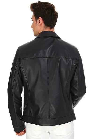 Dinamo Leather Erkek Gerçek Deri Ceket DE-962 - 20099 Dl1