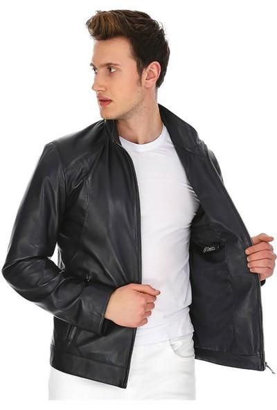 Dinamo Leather Erkek Gerçek Deri Ceket DE-300V2 - 20093 Dl1