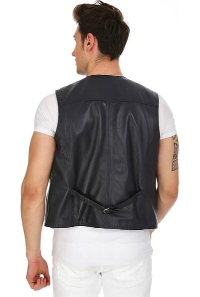 Dinamo Leather Erkek Gerçek Deri Ceket DE-YLK-521 - 20110 Dl1