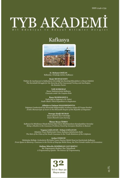 Tyb Akademi 32: Kafkasya