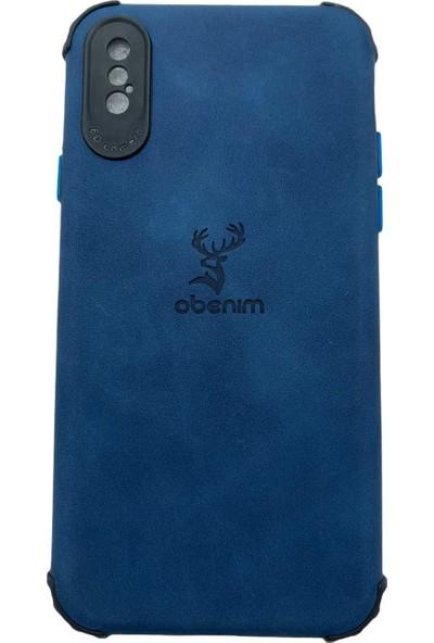 Mopal Obenim Apple iPhone x Telefon Kılıfı Ob-84 Mavi