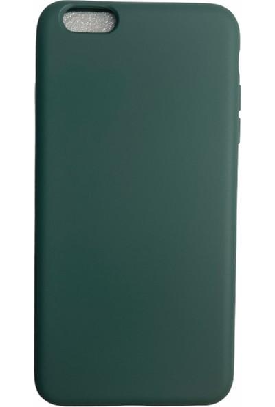 Mopal Apple iPhone 6 Plus Cappy Silikon Kılıf Yeşil