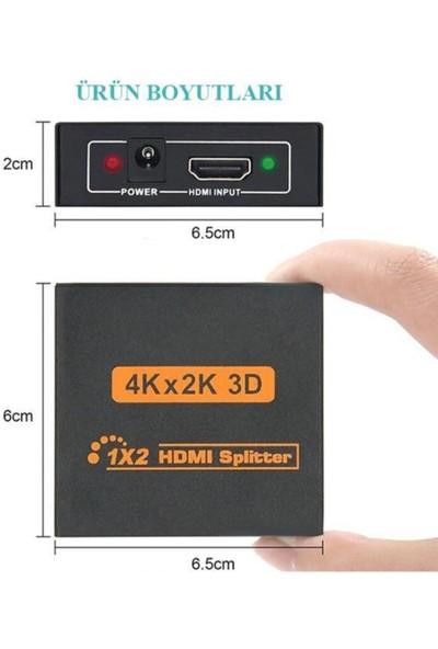 Tenon Hdmı 1/2 4K 3D Full Hd Splitter Çoğaltıcı