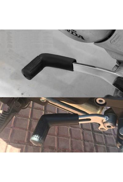 Knmaster Monster Motosiklet Evrensel Siyah Vites Çorabı Pedi