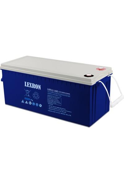 Lexron Akü 12V 160A Jel (522X240X215X221MM) LEXRON-LXR160K