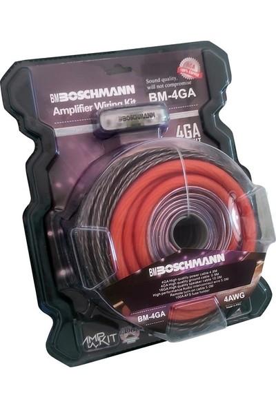 Bm Boschman 4ga Profesyonel Amfi Kablo Seti