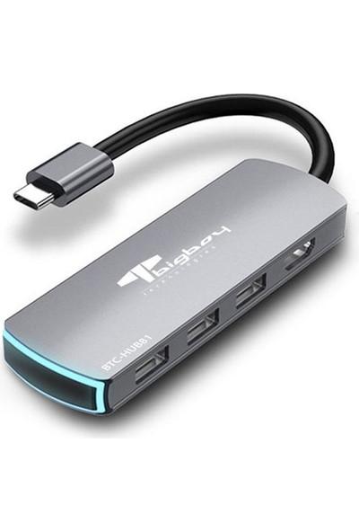Bigboy 8 Port Type C + HDMI Port Çoklayıcı BTC-HUB81