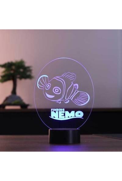 By Lamp Kayıp Balık Nemo LED Masa Lambası