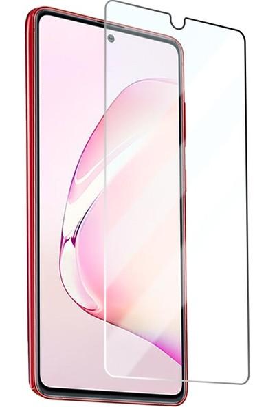 Fibaks Samsung Galaxy M12 Ekran Koruyucu 9h Temperli Kırılmaz Cam Sert Şeffaf Şeffaf