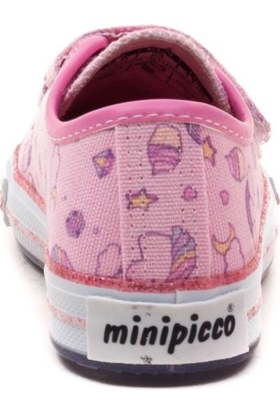 Minipicco Çocuk Pembe Anatomik Destekli Spor Ayakkabı