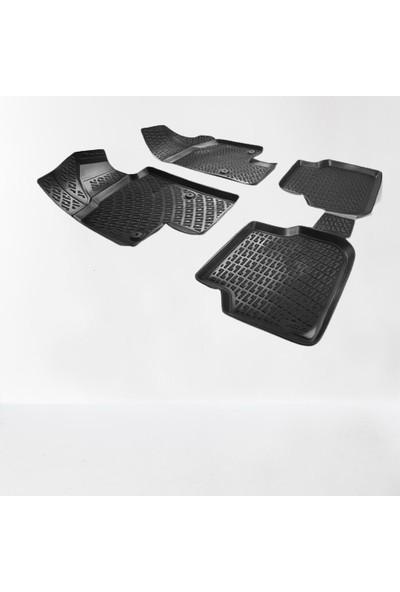 3 Tıkla Nissan Juke 2010-2018 Premium 3D Havuzlu Paspas Seti
