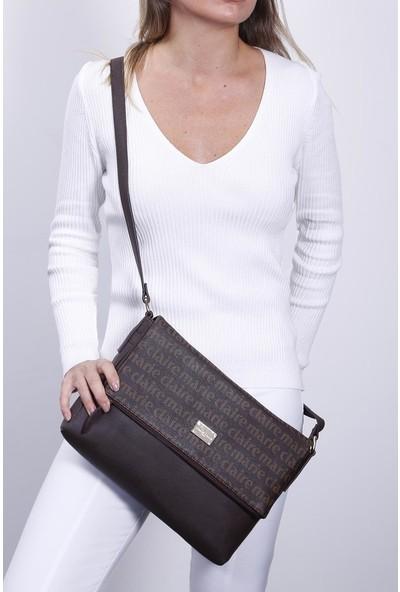 Marie Claire Kahve Kadın Postacı Çantası Bianca Mc212103097