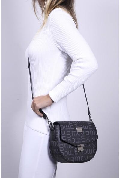 Marie Claire Siyah Kadın Postacı Çantası Vera Mc212103041