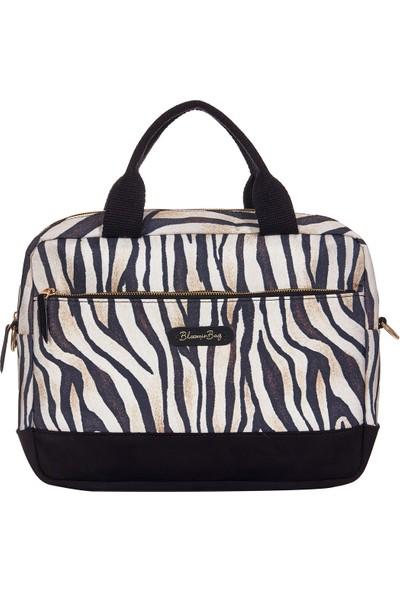 """Bloominbag Stripy Tricky 15.6"""" Kadın Notebook Çantası"""