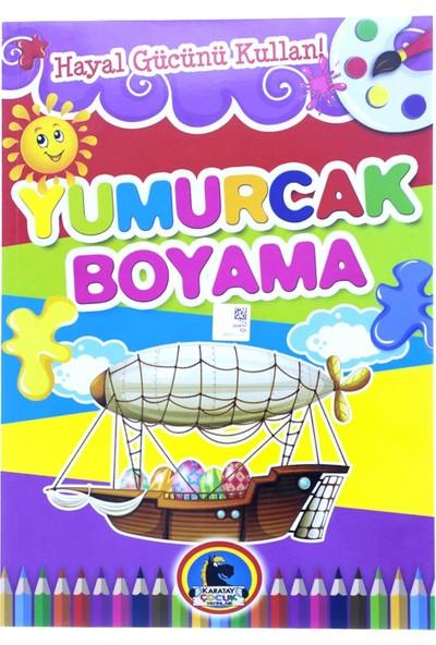 Karatay Çocuk Yumurcak Gemi Baskılı Boyama Kitabı