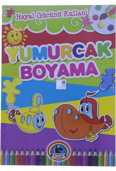 Karatay Çocuk Yumurcak Denizaltı Baskılı Boyama Kitabı