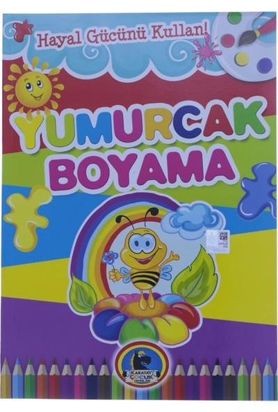 Karatay Çocuk Yumurcak Arı Baskılı Boyama Kitabı