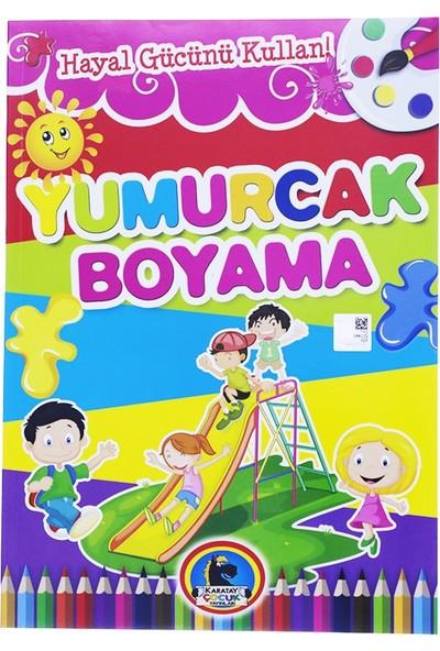 Karatay Çocuk Yumurcak Baskılı Boyama Kitabı